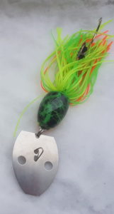 Chatterbaits Silures, coloris Fire Tiger